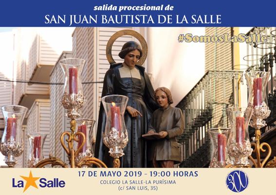 Solemne Función a San Juan Bautista de la Salle