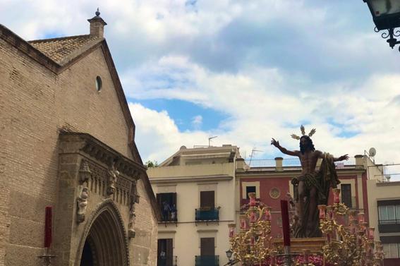 Vía Lucis Pascual en Santa Marina