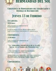 Convivencia de las Hermandades del Sábado Santo y Domingo de Resurrección