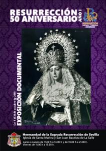 """Exposición Documental """"Resurrección 50 Aniversario. Año I"""""""