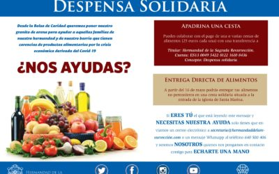 Despensa solidaria de alimentos