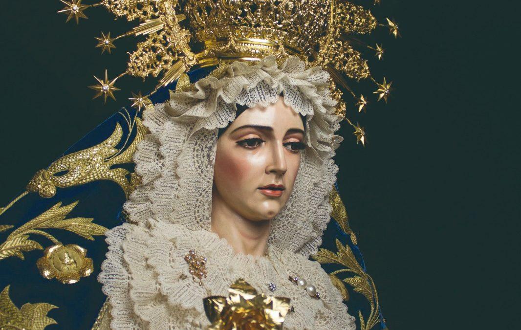 La Virgen de la Aurora será expuesta a la veneración de los fieles con motivo de sus cultos anuales
