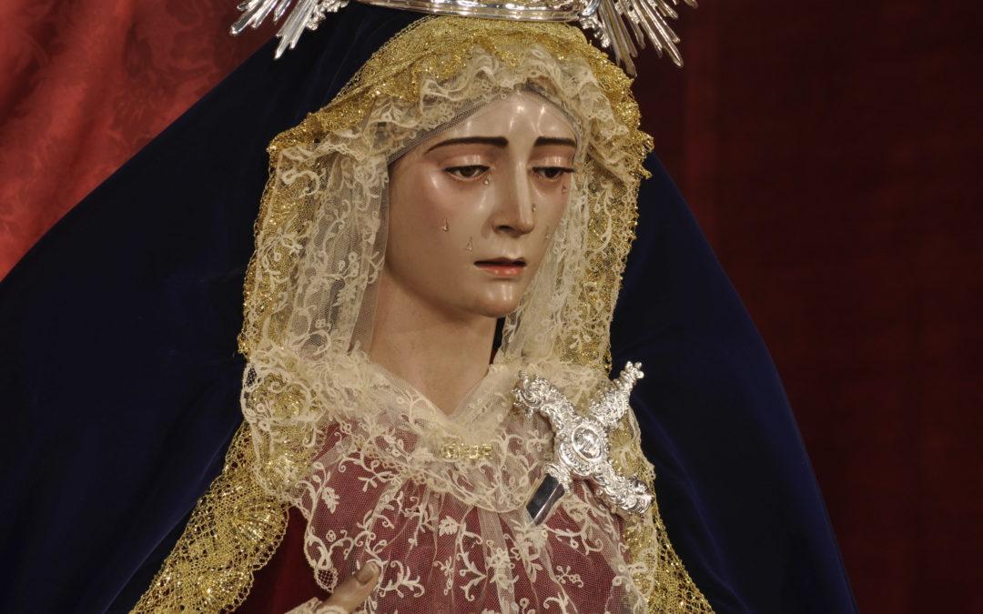 Función y veneración a María Santísima del Amor