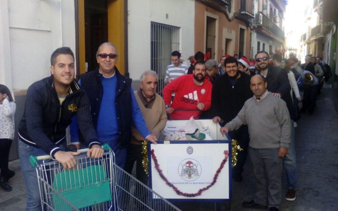 Operación Carretilla y Migas solidarias