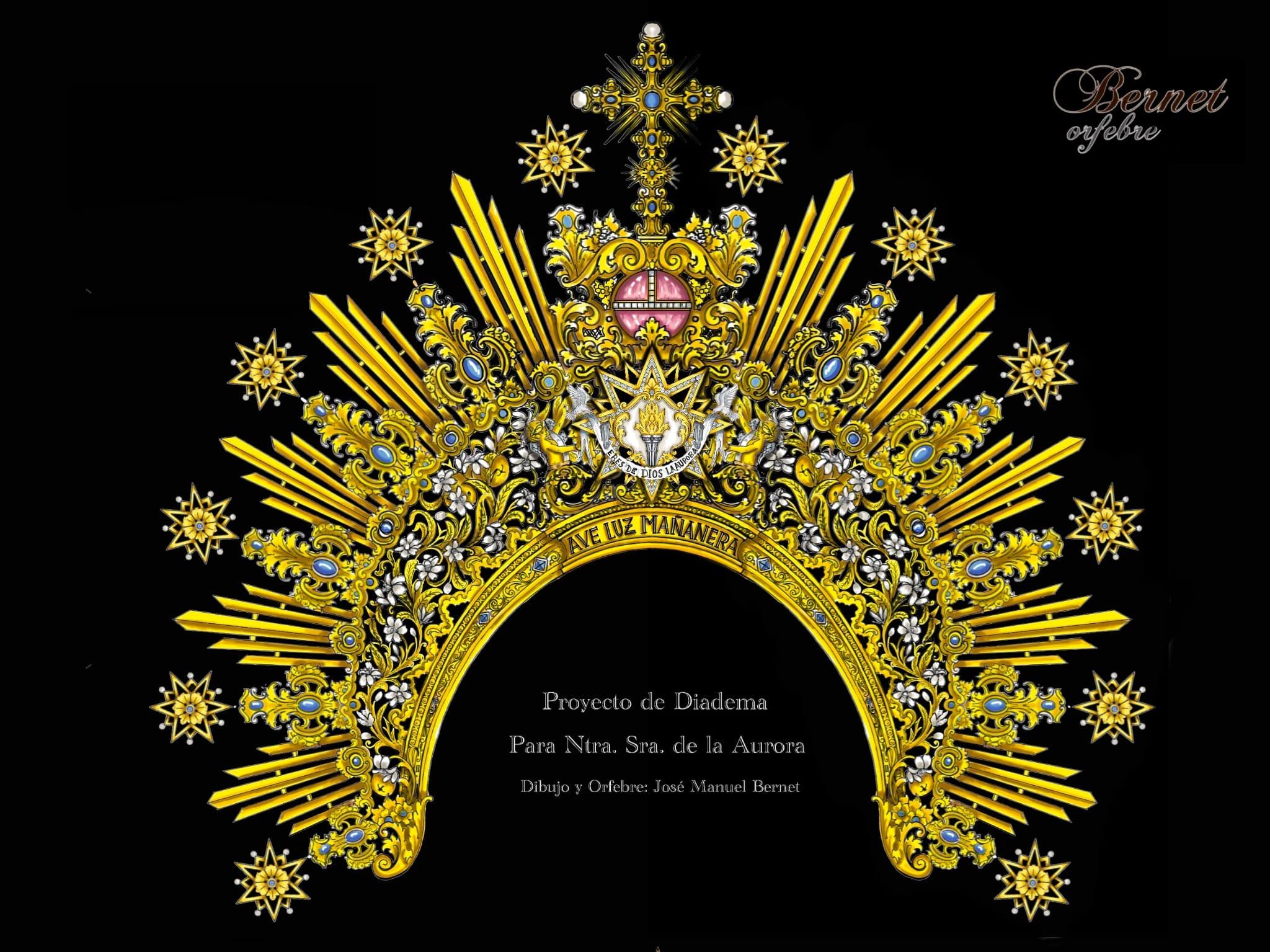 Nueva diadema para Nuestra Señora de la Aurora